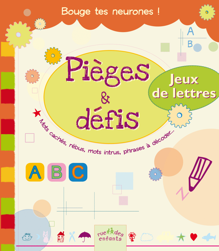 pi ges et d fis jeux de lettres destination loisirs catalogue ditions rue des enfants. Black Bedroom Furniture Sets. Home Design Ideas